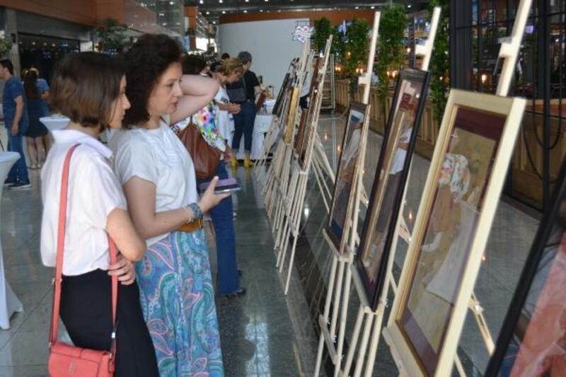 Sabiha Gökçen'de 'Solo Minyatür Sergisi'