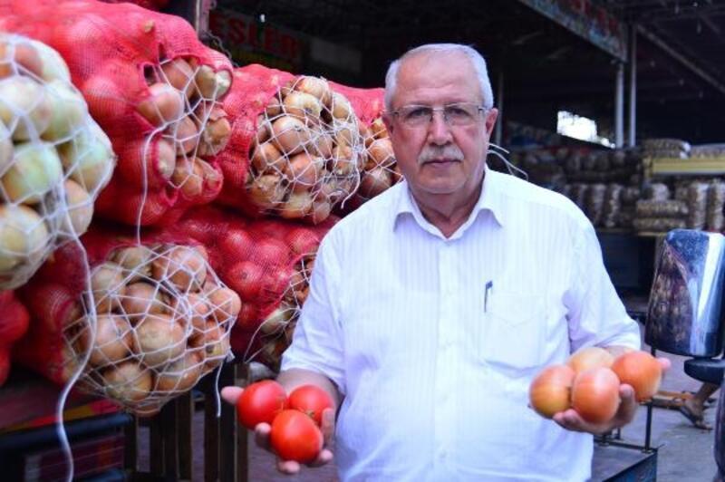 Domates ve soğan fiyatlarında sert düşüş