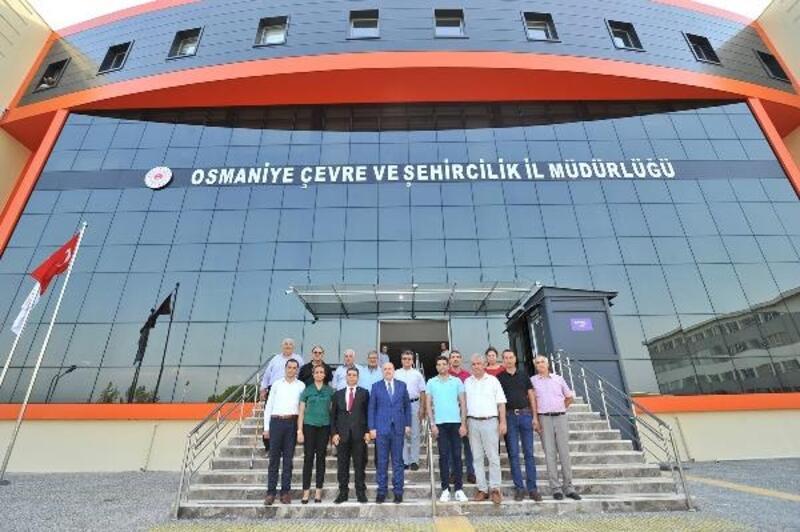 Çevre ve Şehircilik İl Müdürlüğü yeni hizmet binasında