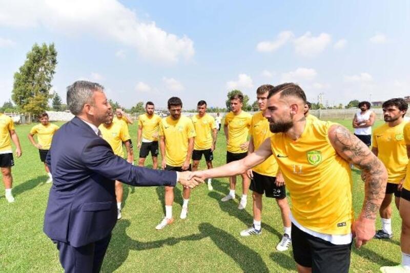 Osmaniyespor FK'ya moral ziyareti