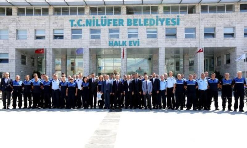 Nilüfer Belediye Başkanı Erdem'den zabıta personeline kutlama