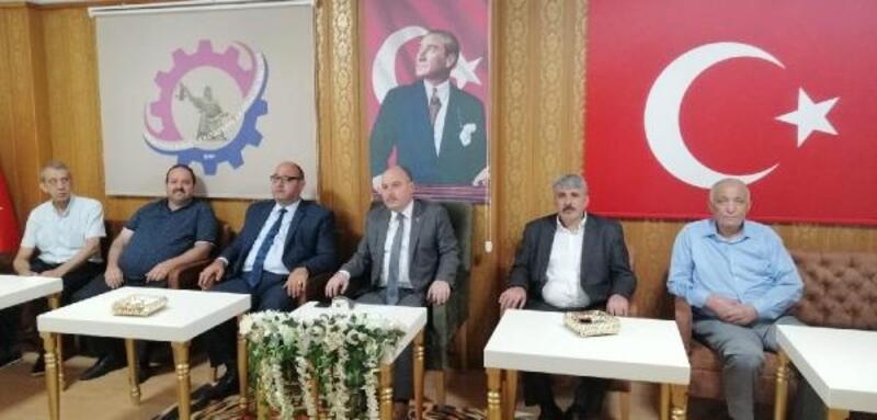 Vali Coşkun'dan Osmaniye Esnaf Odaları Birliğine ziyaret
