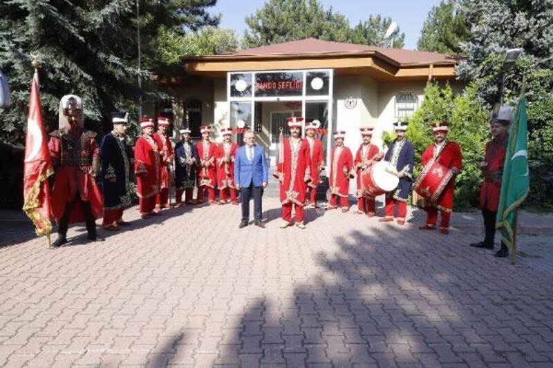 Başkan Büyükkılıç, bando şefliğini ziyaret etti