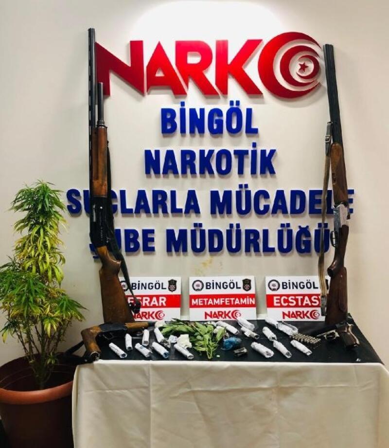 Bingöl ve Diyarbakır'da uyuşturucu operasyonu: 28 gözaltı