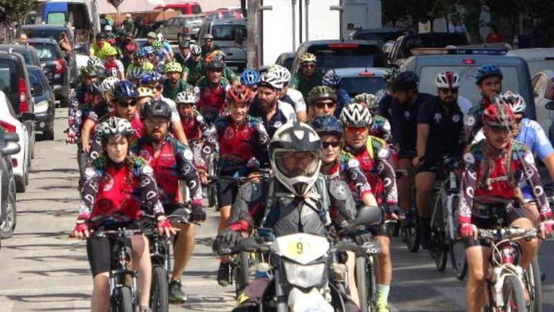 Saros Körfezi Dağ Bisikleti Festivali başladı