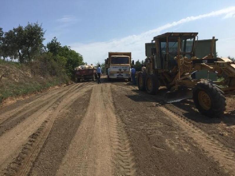 Orhangazi'de asfalt ve parke çalışmaları devam e diyor