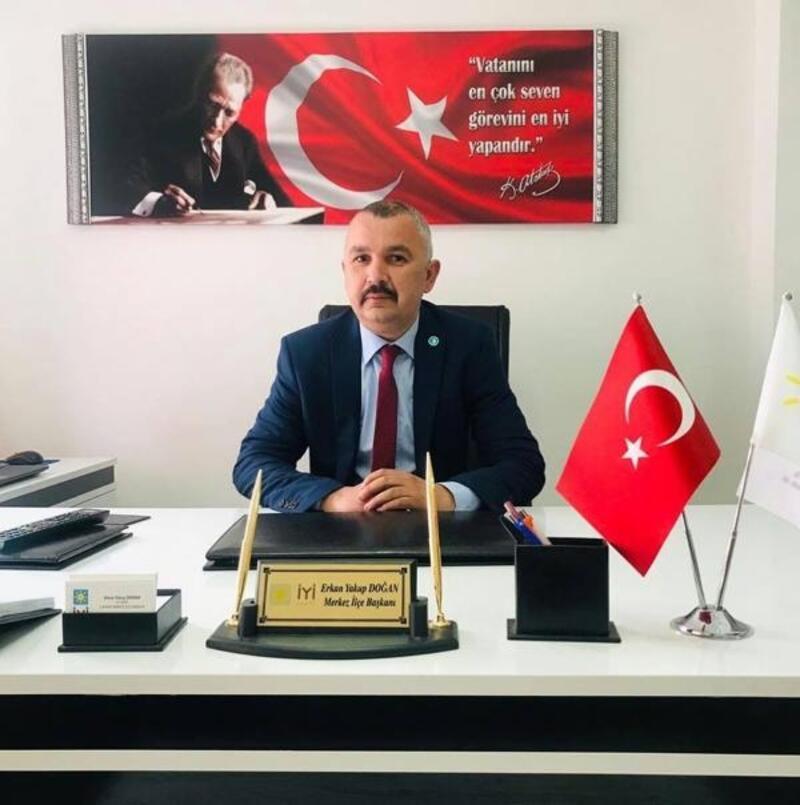Çankırı İYİ Parti Merkez İlçe Başkanı istifa etti