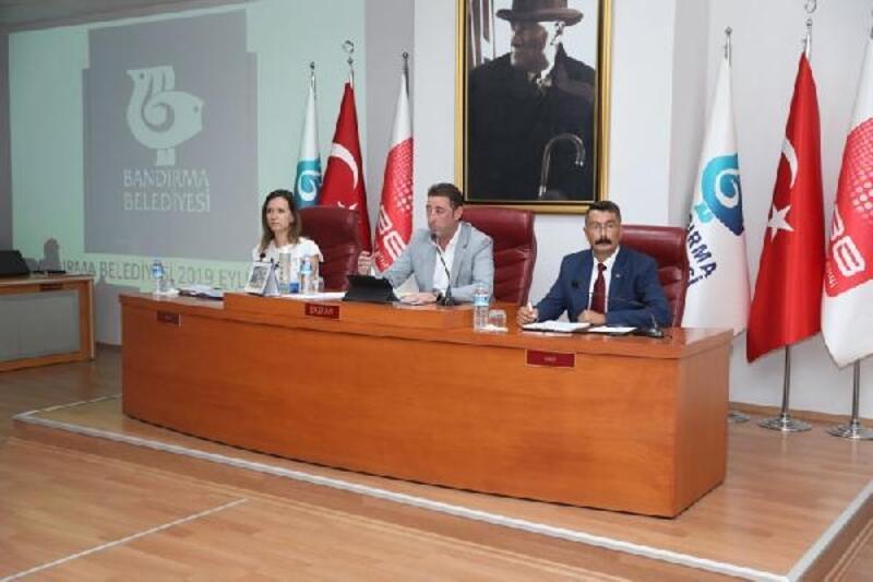 Bandırma Belediyesi'nin 4 yıllık stratejik planı kabul edildi