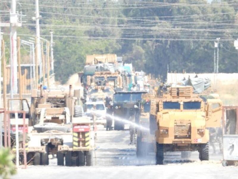 Zırhlı araçlar ortak devriyeye hazır