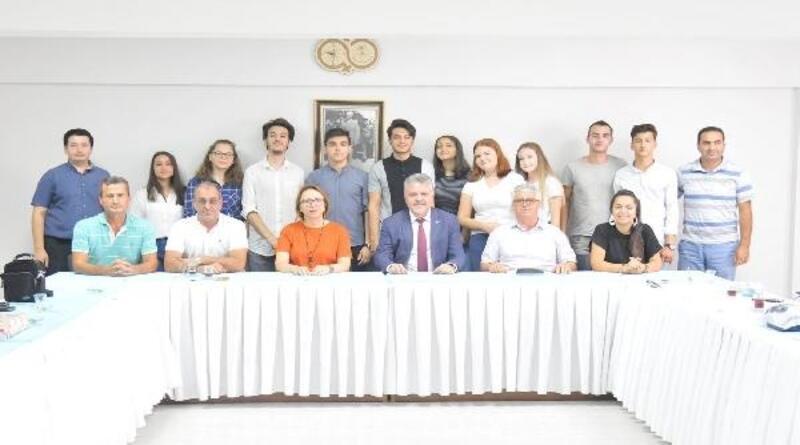 Lüleburgaz'da liseli öğrencilere proje ödülü