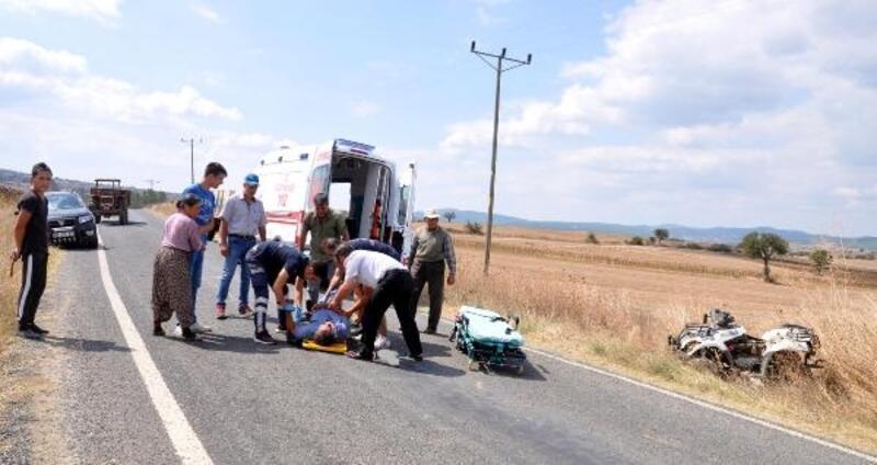 Halatla çekilen ATV devrildi: 1 ölü