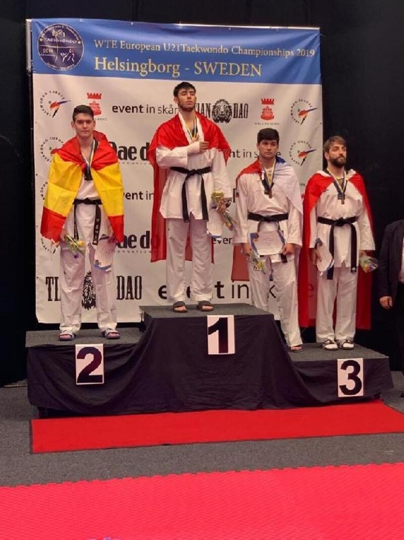 Ümitlerden Taekwondo Şampiyonası'nın son gününde 2'si altın, 4 madalya
