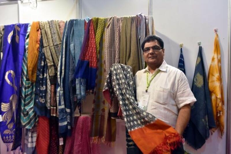 İEF'nin odak ülkesi Hindistan'ın el işi ürünleri rağbet görüyor