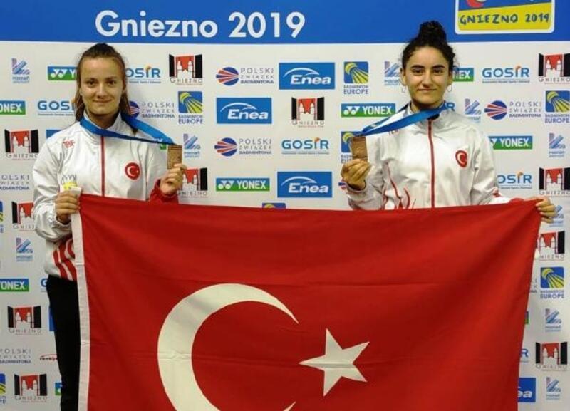 Badmintonda milliler, Avrupa Şampiyonası'nı 2 bronzla tamamladı