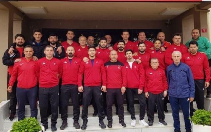 Grekoromen Güreş Milli Takımı, Kazakistan yolcusu