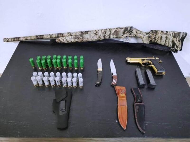 Mesire alanında ateş eden 2 kişi yakalandı