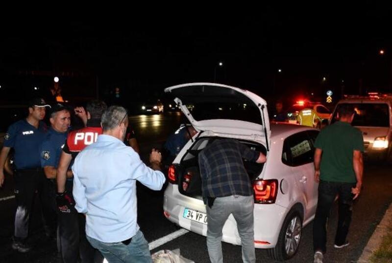 Polisten kaçan alkollü sürücü, otobüs şoförü çıktı