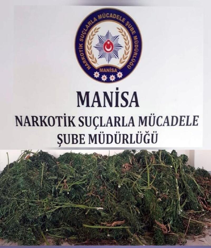 Depoda sakladığı 23 kilo esrarla yakalanıp, tutuklandı