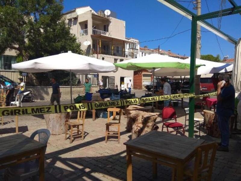 Foça'da kafeterya sahibi silahlı saldırıda yaralandı