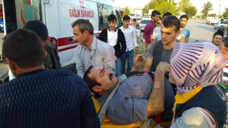 TIR'ın çarptığı bisikletin sürücüsü ağır yaralandı