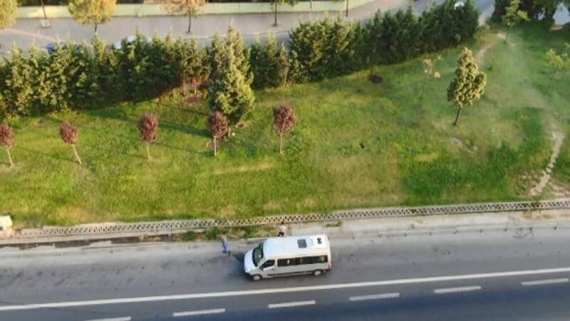 """İstanbul'da servislerin """"Ölüm şeridi"""""""
