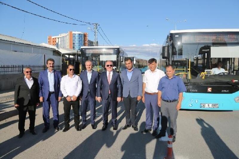 Sivas'ta, Numune Hastanesi'ne otobüs seferi başlatıldı
