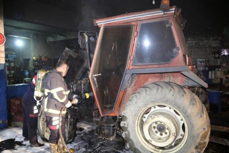 Keşan'da sanayi sitesinde korkutan yangın