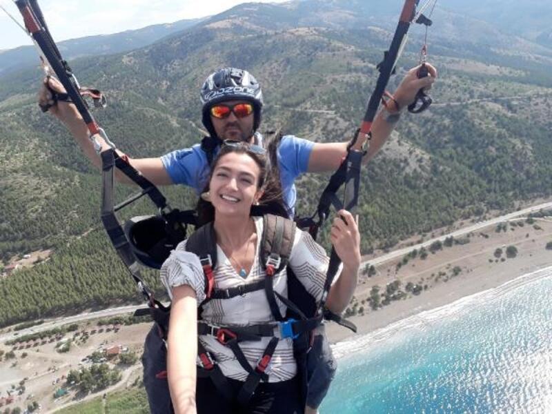 Burdur'da Yamaç Paraşütü Festivali