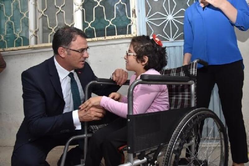 Tokat Valisi Balcı'dan Sıla'nın tedavisi için destek