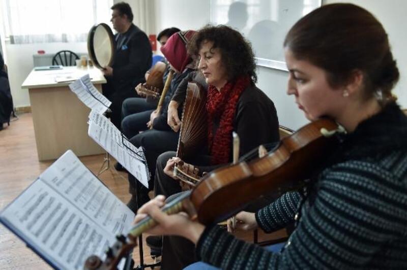Mamak Kültür Merkezi, yeni sanatçılar yetiştiriyor