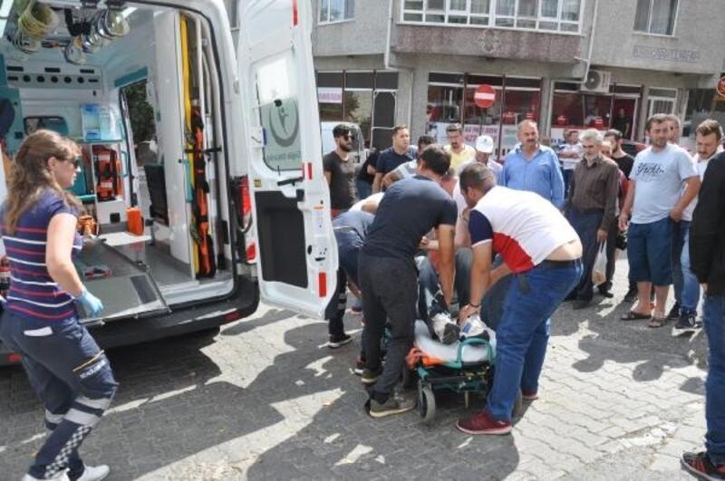 Tekirdağ'da hasta ziyaretine giden sürücü yaralı olarak aynı hastaneye kaldırıldı