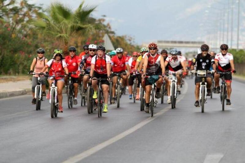 Alanya'da Bisiklet Festivali hazırlıkları