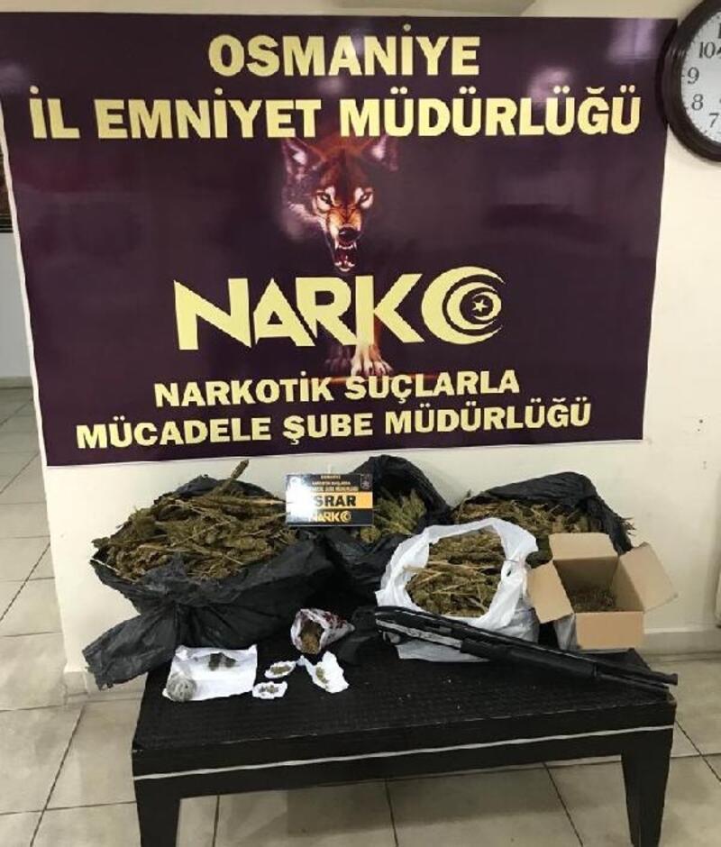 Osmaniye'de uyuşturucu operasyonları: 8 gözaltı