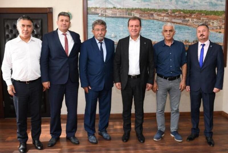 Başkan Seçer, TMMOB heyetini kabul etti