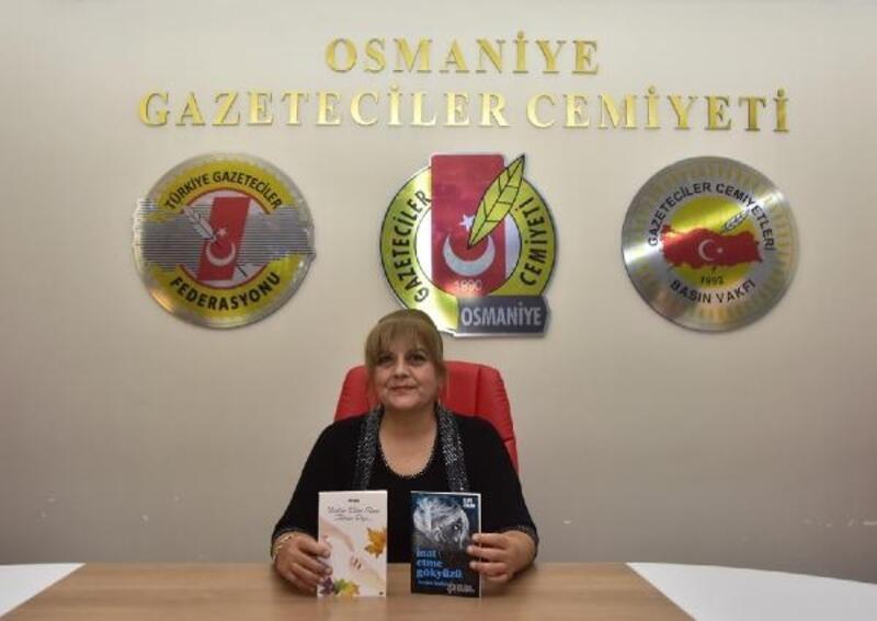 Emekli hemşire Ergan'dan iki şiir kitabı birden