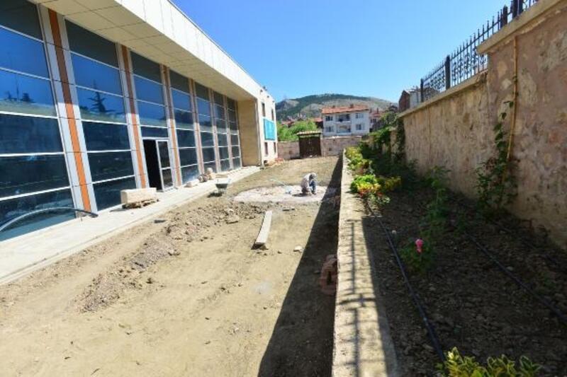 Tokat Şehir Müzesi'ne uygulama bahçesi kuruluyor