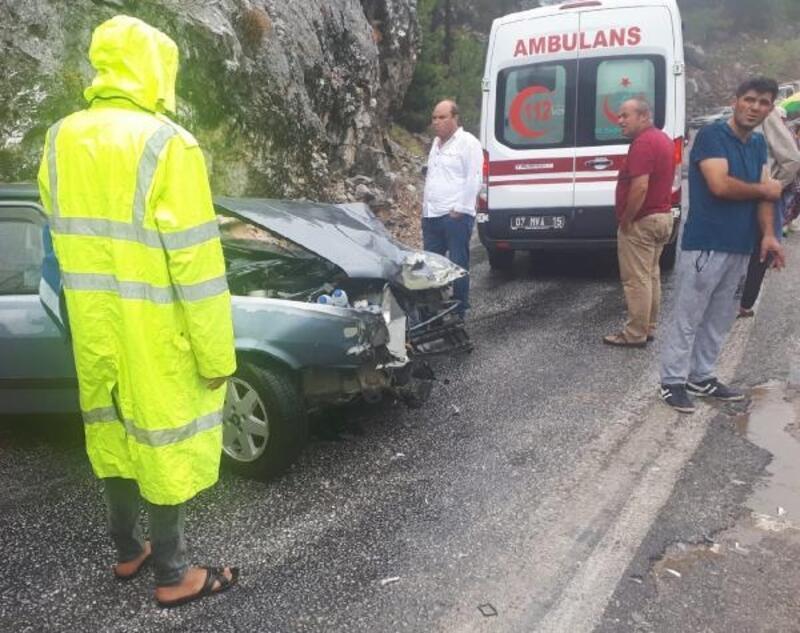 Alanya'da kaza: 1 yaralı