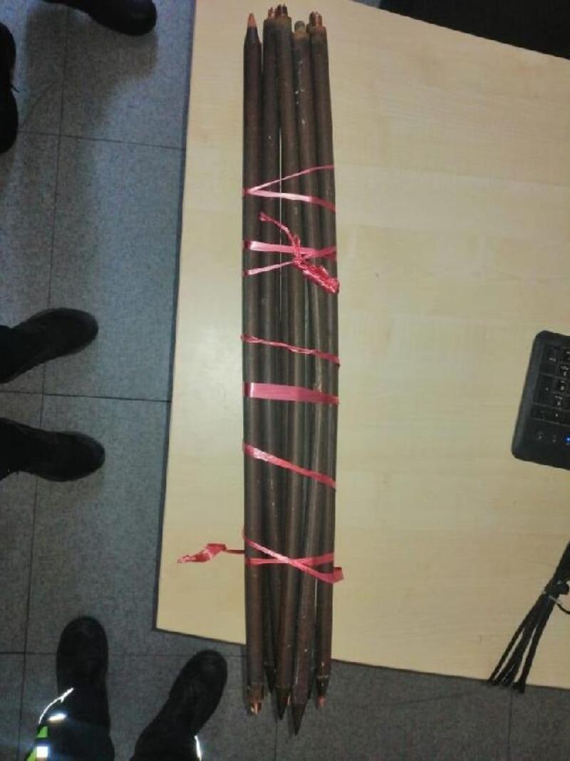 Trafodan kablo çalan hırsızlar tutuklandı