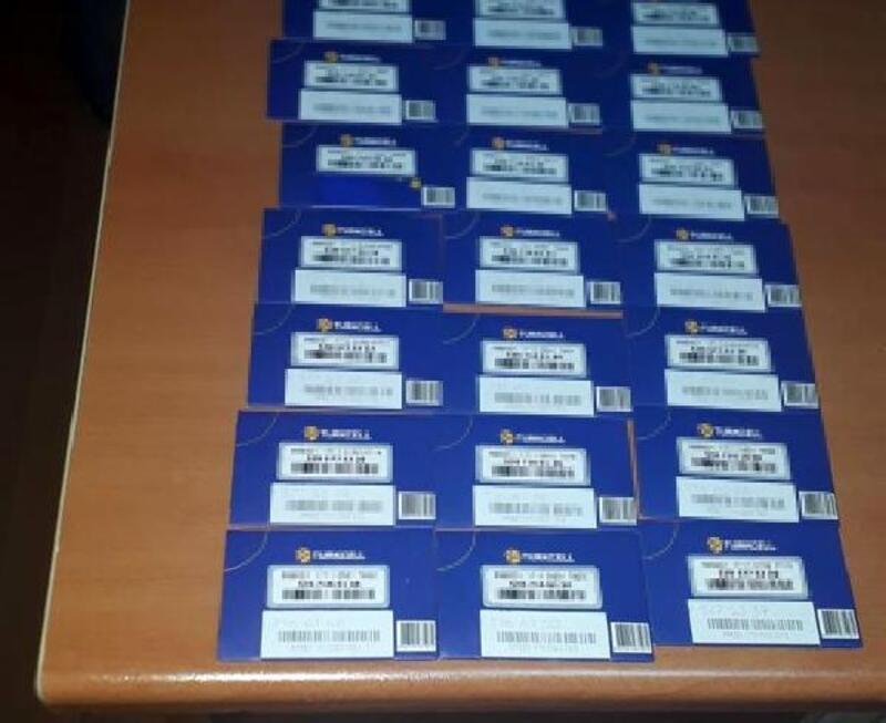 Niğde'de 41 adet sahte sim kart ele geçirildi