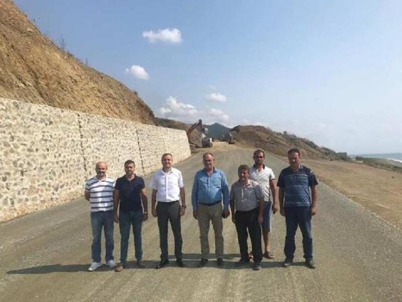 Arsuz - Samandağ yolunun yüzde 70'i tamamlandı