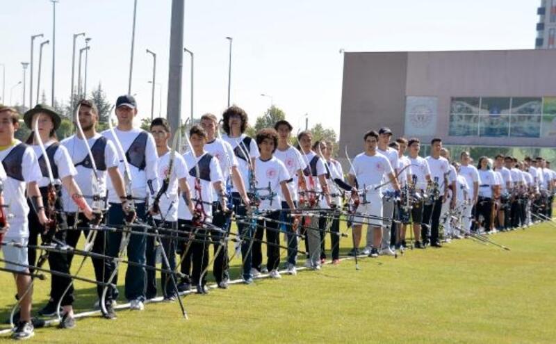 Ahilik Haftası'nda okçuluk ve atıcılık turnuvaları yapıldı
