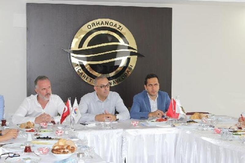 Orhangazi TSO'nun sektörel toplantıları devam ediyor