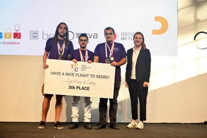 Ulusal Programlama Yarışması'nın kazananları Avrupa yolcusu