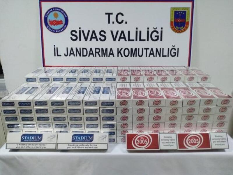 Sivas'ta Jandarmadan kaçakçılık operasyonları