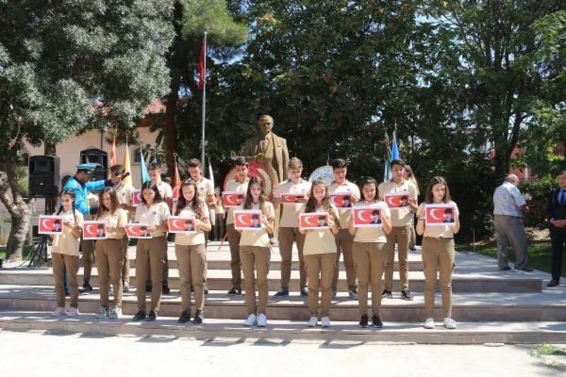 Dinar'da Gaziler Günü töreni