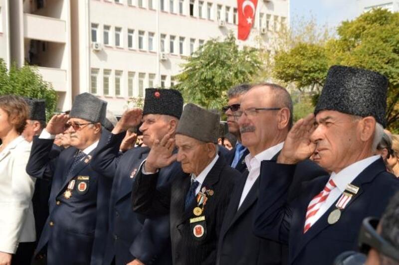 Keşan'da, 19 Eylül Gaziler Günü kutlandı
