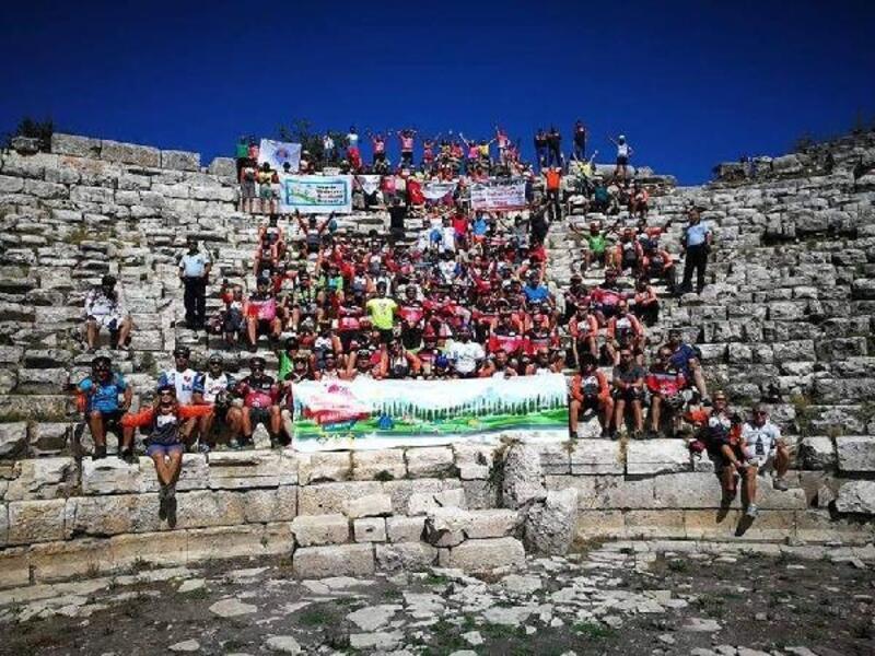 Mersin Caretta Bisiklet Festivali'ne yoğun ilgi