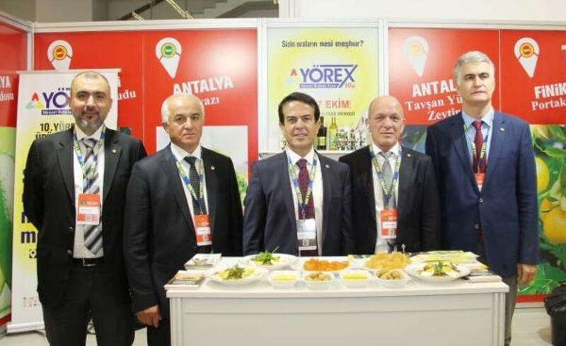 Coğrafi İşaretli Ürünler Zirvesi'nde Antalya rüzgarı