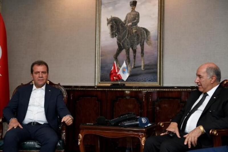Başkan Seçer: Mersin, Irak için ticari bir partner kent