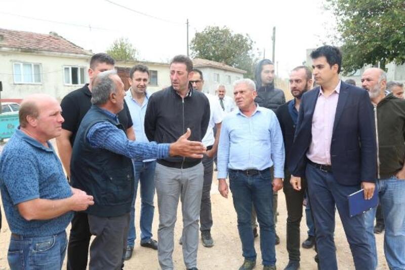 Bandırma Belediye Başkanı Tosun, mahalle ziyaretlerine devam ediyor